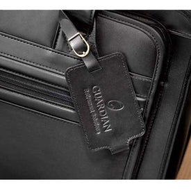 Kenneth Cole Manhattan Leather Compu-Attache with Your Slogan