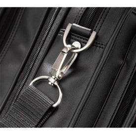 Kenneth Cole Manhattan Leather Compu-Attache Printed with Your Logo