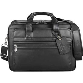 Kenneth Cole Manhattan Leather Compu-Attache for Customization