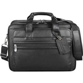 Kenneth Cole Manhattan Leather Compu-Attache for Customization