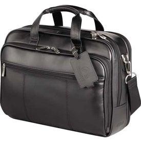 Kenneth Cole Manhattan Leather Compu-Case for Customization