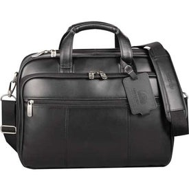 Kenneth Cole Manhattan Leather Compu-Case