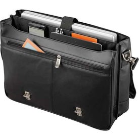 Kenneth Cole Manhattan Leather Compu-Messenger Giveaways