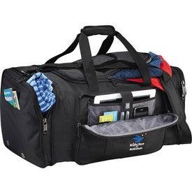 Kenneth Cole Tech Travel Duffel Bag for Customization