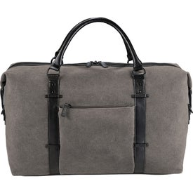 Kenneth Cole Canvas Duffel Bag Imprinted with Your Logo