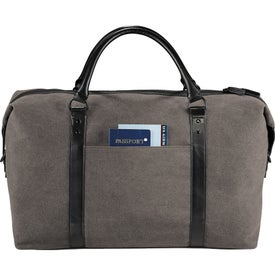 Kenneth Cole Canvas Duffel Bag with Your Logo
