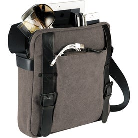Customized Kenneth Cole Canvas Tablet Messenger
