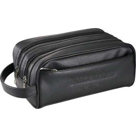 Kenneth Cole Deluxe Double Travel Kit with Your Logo