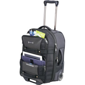"""Kenneth Cole Tech 21"""" Wheeled Carry-On Luggage for Customization"""