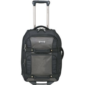 """Personalized Kenneth Cole Tech 21"""" Wheeled Carry-On Luggage"""