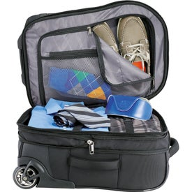 """Printed Kenneth Cole Tech 21"""" Wheeled Carry-On Luggage"""