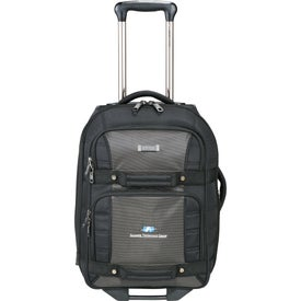 """Kenneth Cole Tech 21"""" Wheeled Carry-On Luggage"""