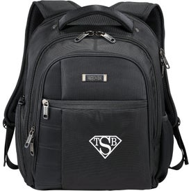 Monogrammed Kenneth Cole Tech Compu-Backpack