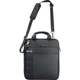 Kenneth Cole Vertical Checkpoint-Friendly Messenger Branded with Your Logo