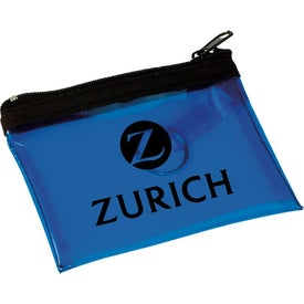 Personalized Key Tag PVC Pouch