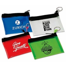 Key Tag PVC Pouches