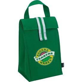 Koozie Stripe Lunch Sack for Your Organization