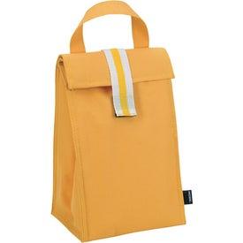 Branded Koozie Stripe Lunch Sack