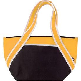 Branded Koozie Trapezoid Kooler Bag