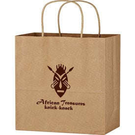 "Kraft Paper Brown Wine Bag (13"" X 13"")"