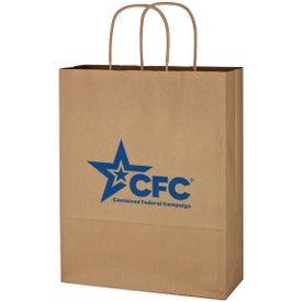 """Kraft Paper Brown Shopping Bag (10"""" x 13"""")"""