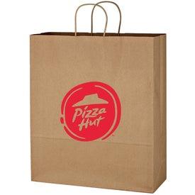 """Kraft Paper Brown Shopping Bag (16"""" x 19"""")"""