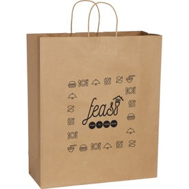 Kraft Paper Jumbo Bag (Brown)