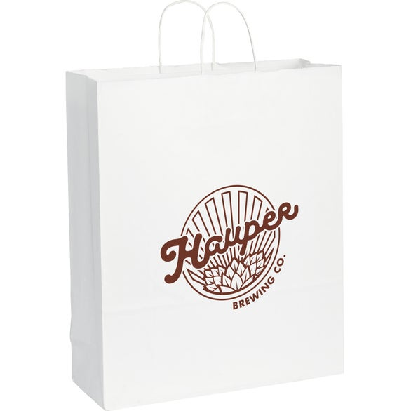 White Kraft Paper Jumbo Bag