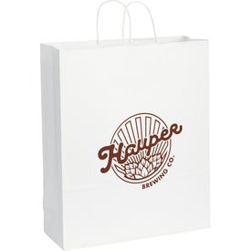 Kraft Paper Jumbo Bag (White)