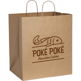 Kraft Paper Large Bag (Brown)