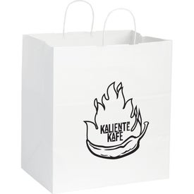 Kraft Paper Large Bag (White)