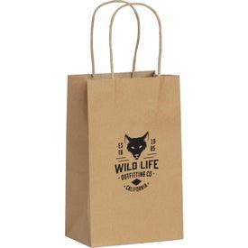 Kraft Paper Mini Gift Bag