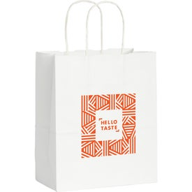 Kraft Paper Small Bag (White)