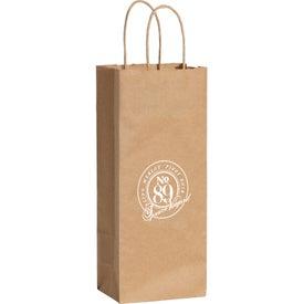 Kraft Paper Wine Bag (Brown)