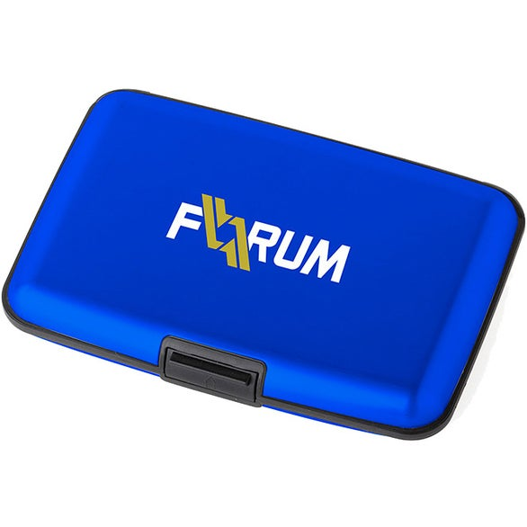 Blue Kryptonite RFID Case