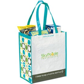 Promotional Laminated 100% Recycled Shopper
