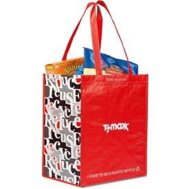 Laminated 100% Recycled Shopper for Customization