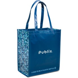 Personalized Laminated 100% Recycled Shopper