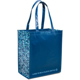 Laminated 100% Recycled Shopper for Your Company