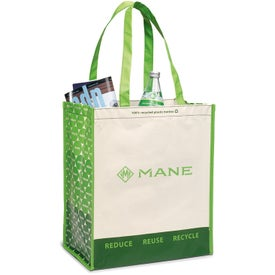 Laminated 100% Recycled Shopper for Your Church