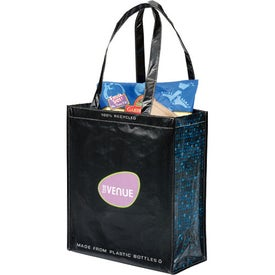 Laminated 100% Recycled Shopper Set