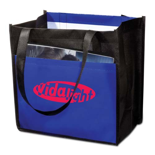 Blue Laminated Enviro-Shopper