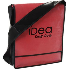 Laminated Non Woven Messenger Printed with Your Logo
