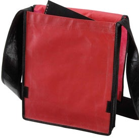 Laminated Non Woven Messenger with Your Slogan
