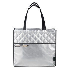 Printed Laminated Non Woven Quilted Carry All