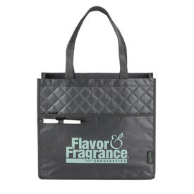 Customized Laminated Non Woven Quilted Carry All