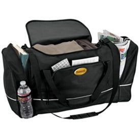 Large Capacity Duffel with Your Slogan