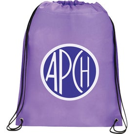 Customized Large Champion Drawstring Cinch Backpack