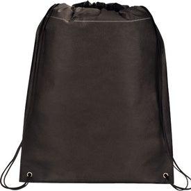 Logo Large Champion Drawstring Cinch Backpack