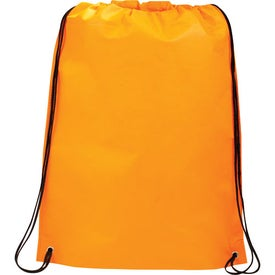 Custom Large Champion Drawstring Cinch Backpack